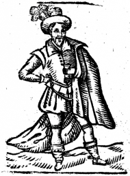 Figure 3: Roxburghe woodcut